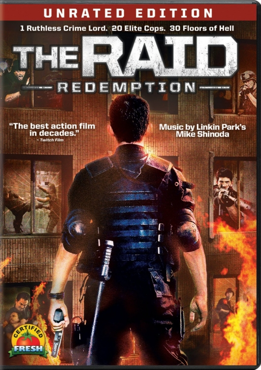 The Raid: Redemption dvd cover