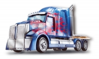 Transformers: Age of Extinction: Optimus Prime First Edition, vehicle mode