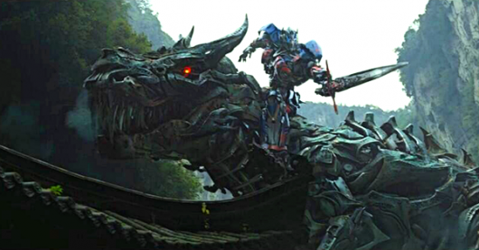Transformers: Age of Extinction, Optimus Prime and Dinobot Grimlock (maybe)