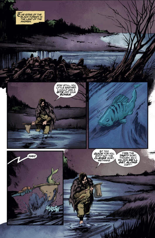 The Witcher #1, page 1
