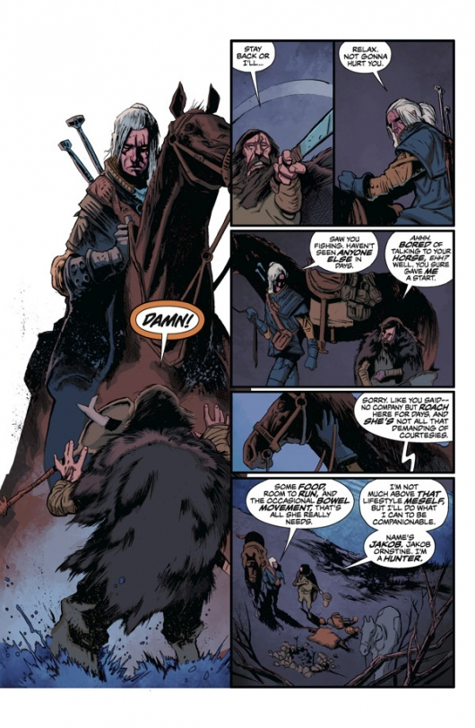 The Witcher #1, page 2
