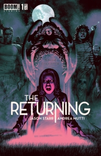 The Returning #1 cover by Andrea Mutti