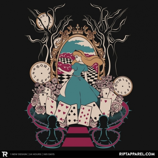 Alice In Wonderland Alice design by Nados