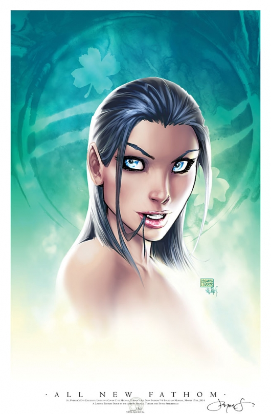 All New Fathom #6 St. Patrick's Day print