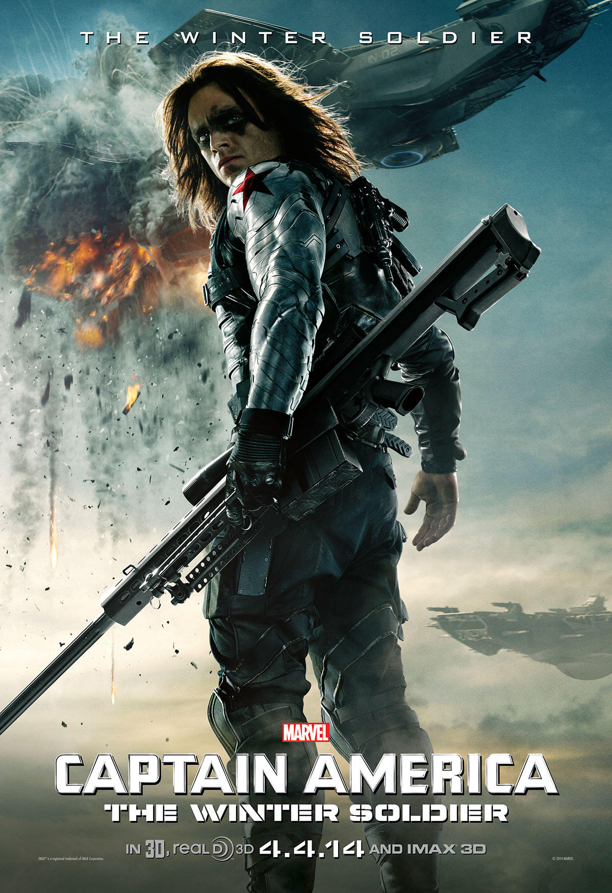 Captain America The Winter Soldier Winter Soldier