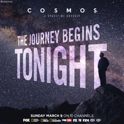 Neil deGrasse Tyson Cosmos: A Spacetime Odyssey airs tonight