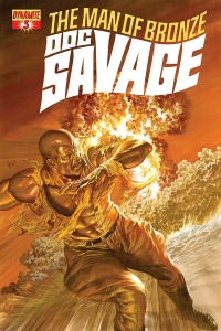 Doc Savage #3 cover by Alex Ross