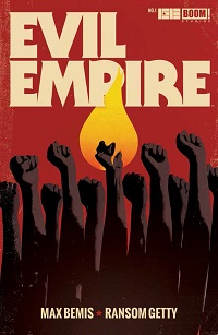 Evil Empire #1 cover by Jay Shaw