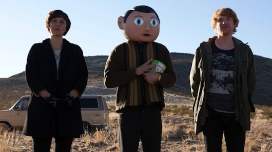 Frank starring Michael Fassbender at SXSW