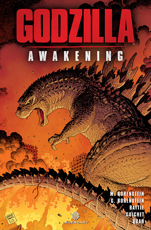 Godzilla: Awakening Graphic Novel Cover