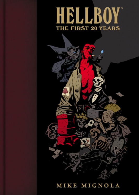 Hellboy: The First 20 Years cover by Mike Mignola