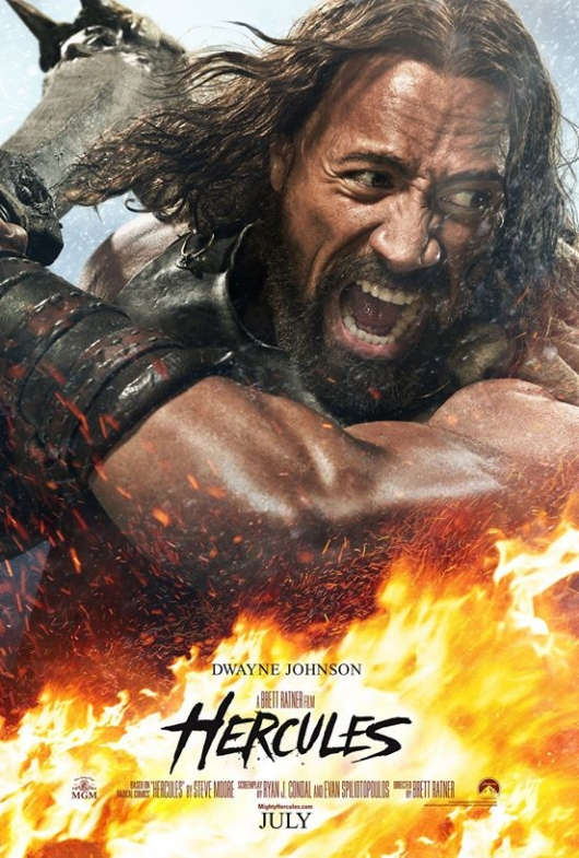 Hercules With Dwayne Johnson Poster