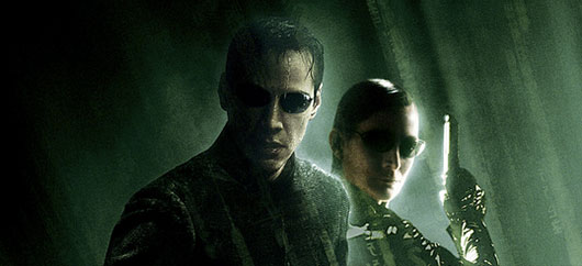 Matrix Neo and Trinity Matrix Revolutions