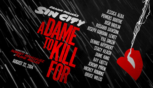 Sin City: A Dame to Kill For banner