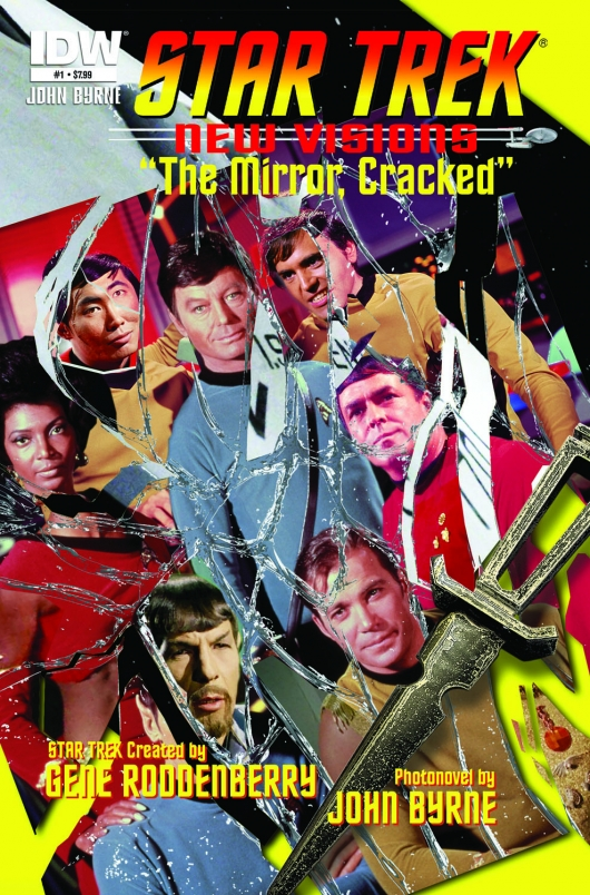 Star Trek: New Visions #1 - The Mirror, Cracked