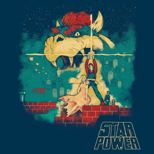 Star Wars Super Mario Super Power design