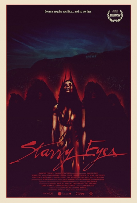 Starry Eyes Poster by Jay Shaw at SXSW