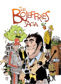 The Bojeffries Saga cover by Steve Parkhouse