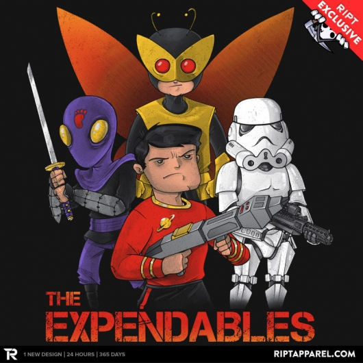 Stormtroopers, Redshirts, The Expendables design