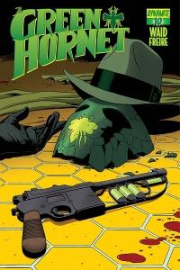 The Green Hornet #10 cover by Paolo Rivera