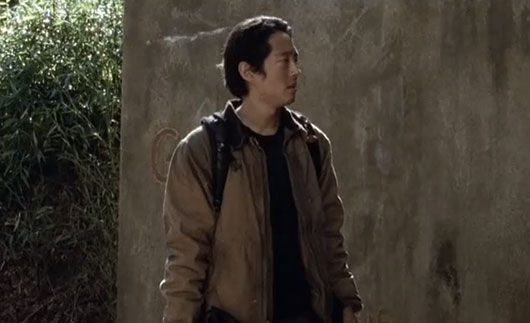 The Walking Dead Episode 415 Glenn tunnel