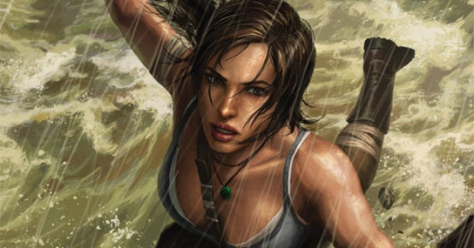 Tomb Raider #2 cover banner