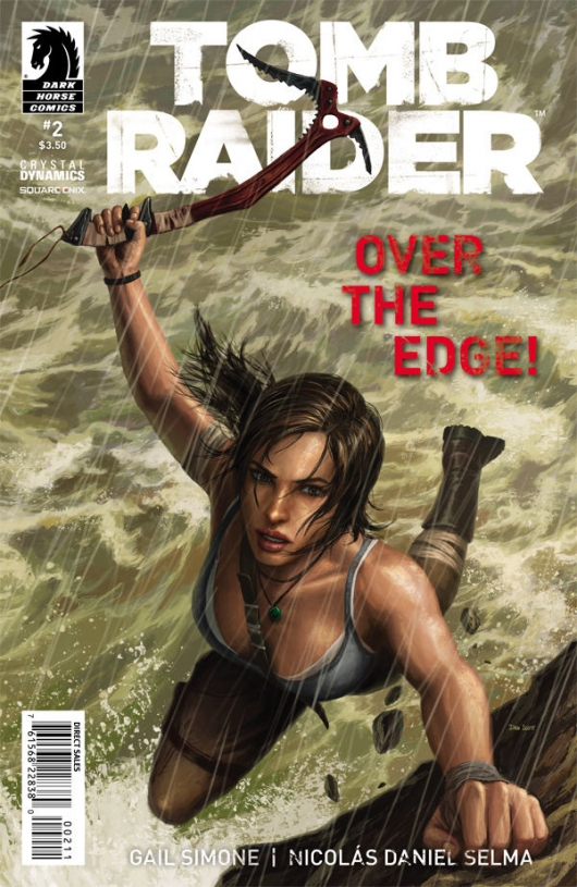 Tomb Raider #2 cover by Dan Scott