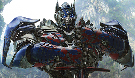 Transformers: Age of Extinction poster crop