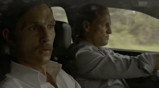 True Detective Episode 8 season 1 finale Marty and Rust in the car