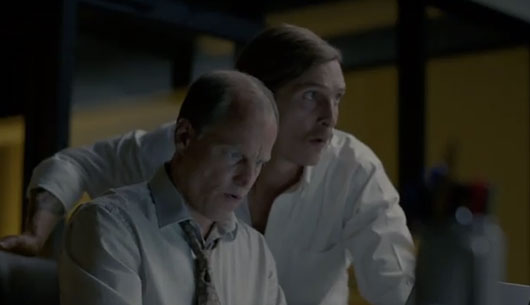 True Detective Season 1 finale Marty and Rust on the computer