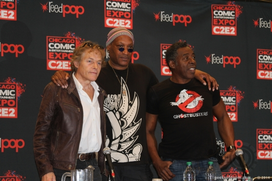 C2E2 2014 The Crow panel Michael Massee, Tony Todd, Ernie Hudson