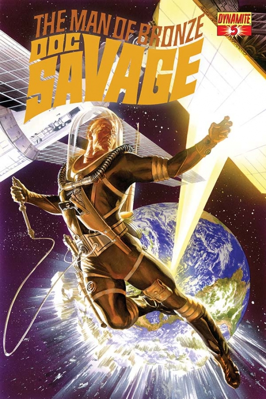 Doc Savage #5 cover