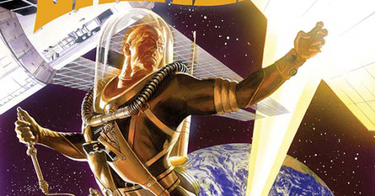 Doc Savage #5 cover by Alex Ross