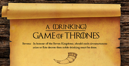 A (Drinking) Game Of Thrones header