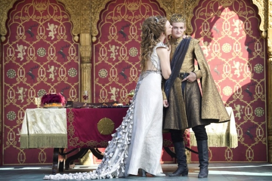 Game Of Thrones Season 4 Margaery Tyrell and King Joffrey