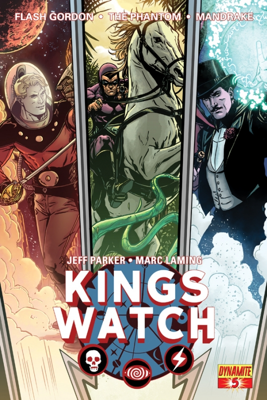 Kings Watch #5 cover by Marc Laming