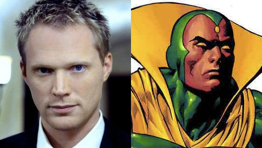 Paul Bettany The Vision Header Image
