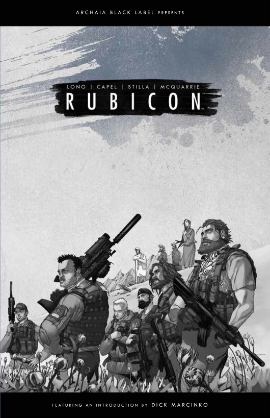 Rubicon cover by Mario Stilla