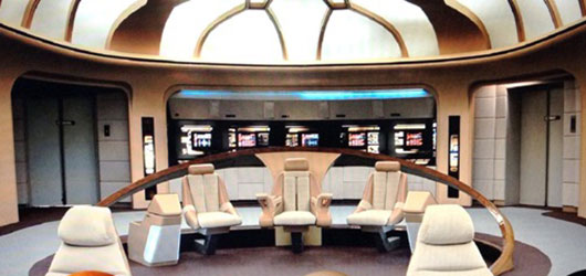 Star Trek: The Next Generation bridge