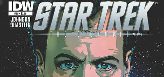 Star Trek The Q Gambit Star Trek #35 header