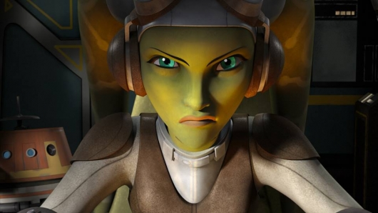 Star Wars Rebels Hera and Chopper