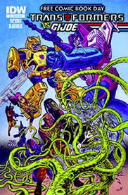 Transformers vs GI Joe #0 Free Comic Book Day Edition