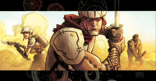 The 7th Sword #1 cover header