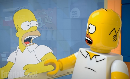 The Simpsons LEGO Homer