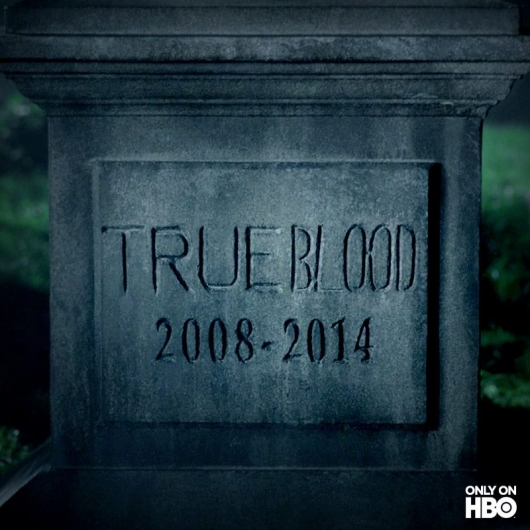 True Blood final season tombstone