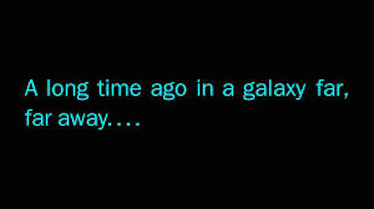 Star Wars A Long Time Ago