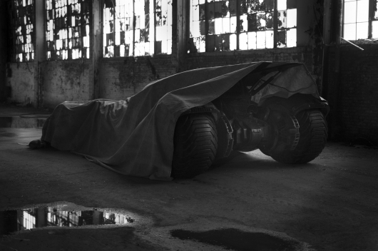 Batman vs.Superman Batmobile Tease