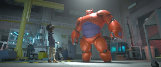 Disney's Animated Marvel Movie Big Hero 6 #3