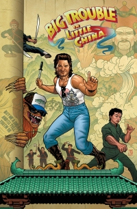 Big Trouble in Little China #1 cover B