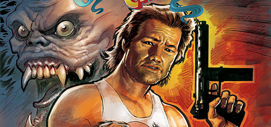 Big Trouble in Little China #1 cover banner